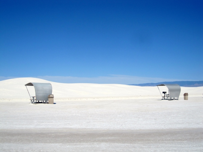 Solar Observatory and White Sands Photos