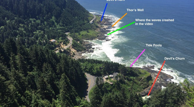 Waves on Cape Perpetua